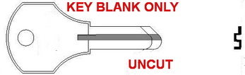 1000V CO26 Ilco Key for Blank- UNCUT