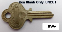 1014D 11605 Eagle KEY BLANK ONLY