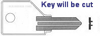 P1 Key for WESKO Office Furniture Products