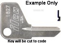 3095 Switch Key CEMA GE Siemans Joslyn Clark
