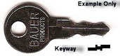 EC907 Double Sided Key BETTER BUILT