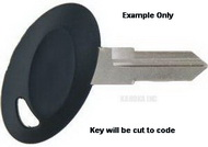 1 001 LEER Key for TONNEAU Covers and Misc. Products Only