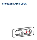 210 BETTER BUILT Key for SHOTGUN LATCHES ONLY