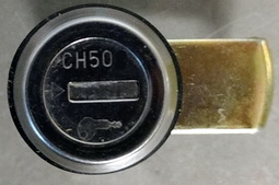 CH501 Complete Lock Assembly for Tool Boxes with 1 Key **