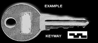 K314 Double Sided Key Stahl