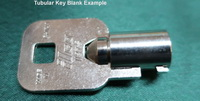 068 TUBULAR ROUND Key for HuskyPro PRODUCTS ONLY
