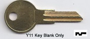 O1122 Y-11 Y11 Ilco Key for Blank- UNCUT