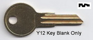 O1122A 01122A Y12 Ilco Key for Blank- UNCUT