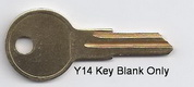 O1122AR 01122AR Y14 Ilco Key for Blank- UNCUT