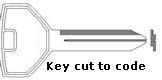 05 Key for SNUG TOP SNUGLID TONNEAU and STRATTEC Products