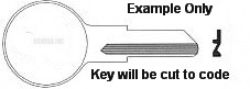 EH1 Key for Hurd Locks